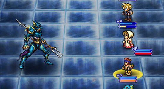 ファイナルファンタジーレコードキーパー ファブール城BOSS:竜騎士