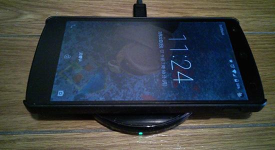 qi充電器Nexus5