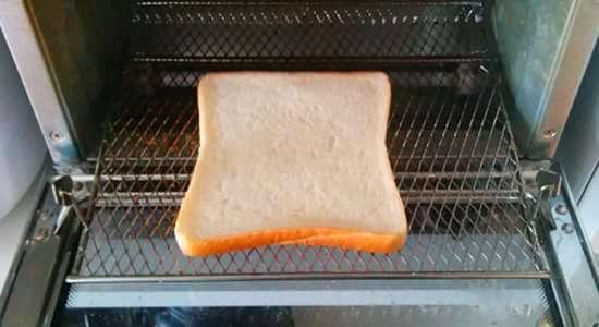 食パンを焼く前