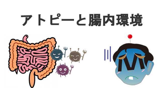 アトピーと腸内環境